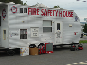 small - fire safety house