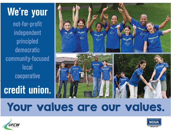 We're your Credit Union