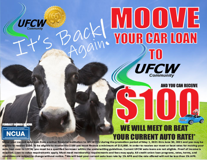 Move your car loan to UFCW