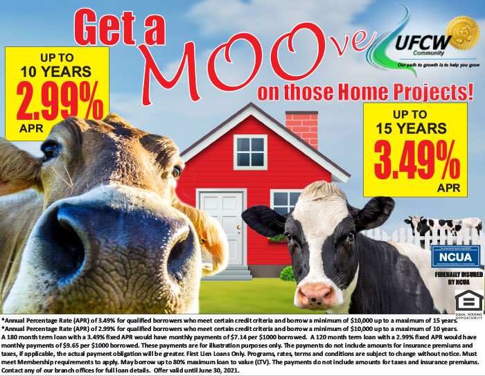 Move your Home Equity loan to UFCW